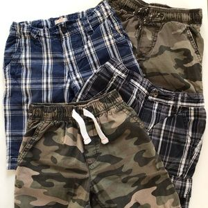 Bundle of 4 pairs boys shorts